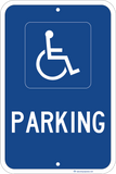 Parking - Handicapped Only - Sign Wise