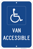 Van Accessible - Sign Wise
