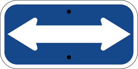 Both Way Arrow - Sign Wise