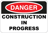 Construction In Progress - Sign Wise