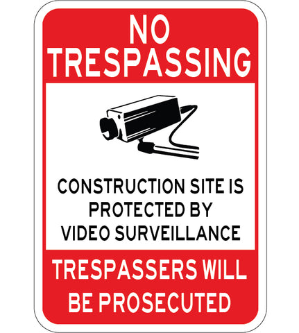 Construction Site Protected By Video Surveillance