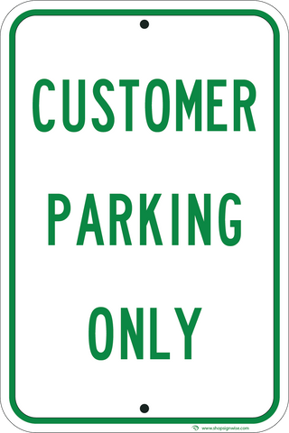 Customer Parking Only - Sign Wise