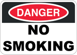 Danger - No Smoking - Sign Wise