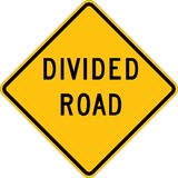 Divided Road - Sign Wise