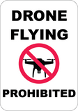 Drone Flying Prohibited - Sign Wise