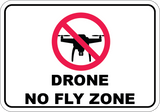 Drone No Fly Zone - Sign Wise