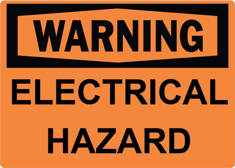 Electrical Hazard - Sign Wise