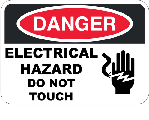 Electrical Hazard Do Not Touch