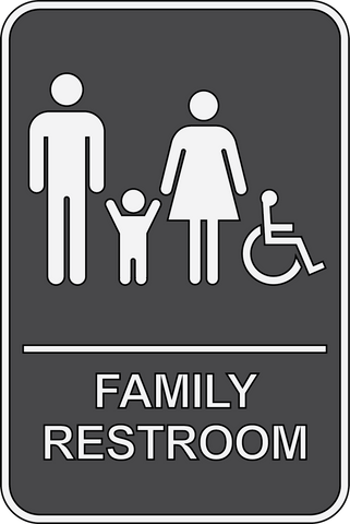 Family Restroom ADA Sign - Sign Wise