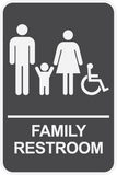 Family Restroom - Sign Wise