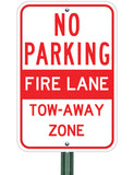 Fire Lane - Tow Away - Sign Wise