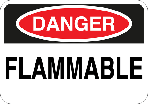 Danger Flammable - Sign Wise
