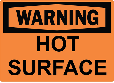 Hot Surface - Sign Wise