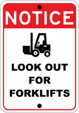 Look Out For Forklifts - Sign Wise