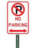 No Parking Both Ways - Sign Wise