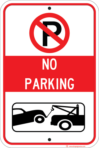 No Parking Tow Away - Sign Wise