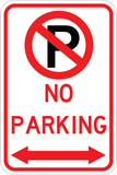 No Parking Both Ways