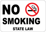 No Smoking - State Law - Sign Wise
