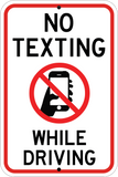 No Texting While Driving - Sign Wise