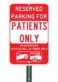 Patient Parking Only - Sign Wise