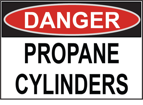 Propane Cylinders - Sign Wise