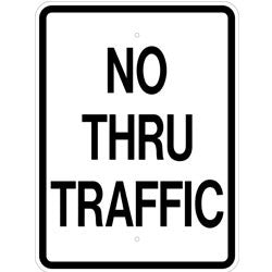 No Thru Traffic - Sign Wise
