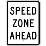 Speed Zone Ahead