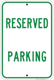 Reserved Parking - Sign Wise