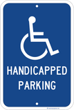 Handicapped Parking - Sign Wise