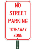 No Street Parking - Sign Wise