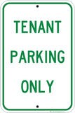 Tenant Parking Only - Sign Wise