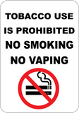 Tobacco Use is Prohibited
