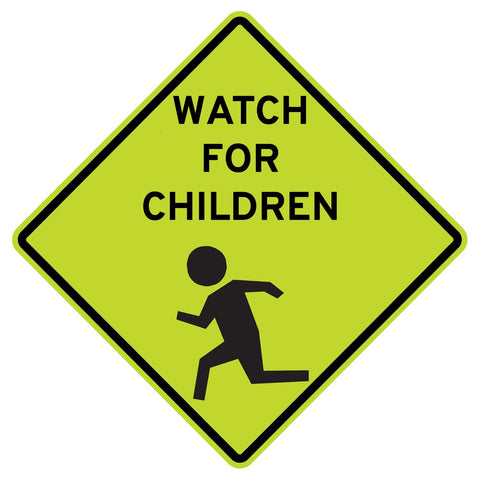 Watch For Children - Sign Wise