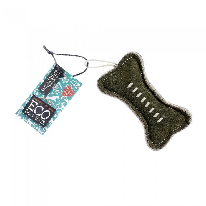 Green & Wild's Green Bone -Eco Dog Toy- Made in UK *NEW*