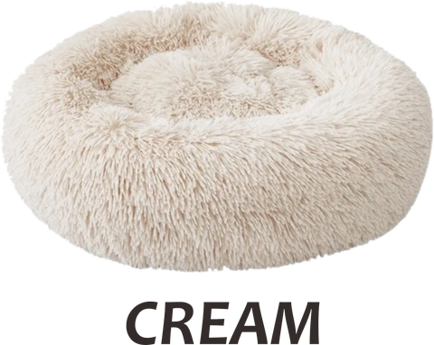 Luxury Soothing Soft Donut Pet Bed