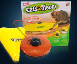 Cat's Meow Rotation Toy 電動貓玩具