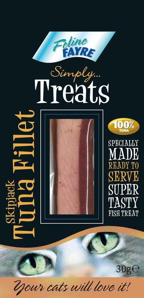 Feline Fayre Tuna Fillet Cat Treat 30g