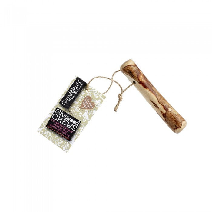 Green & Wild's Olivewood Dog Chew Small (Made in UK)
