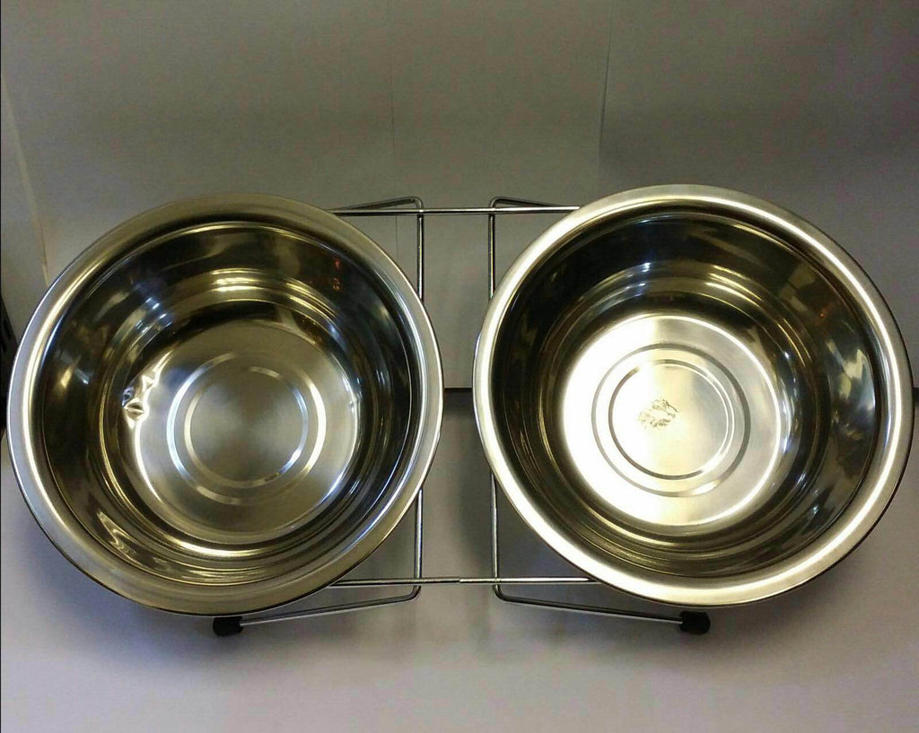 Stainless Steel Food/Drinking Bowl