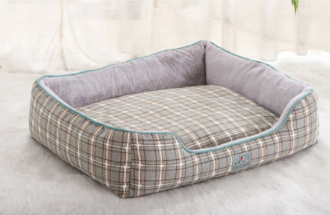 Elite Pet Bed Tartan Snoozers