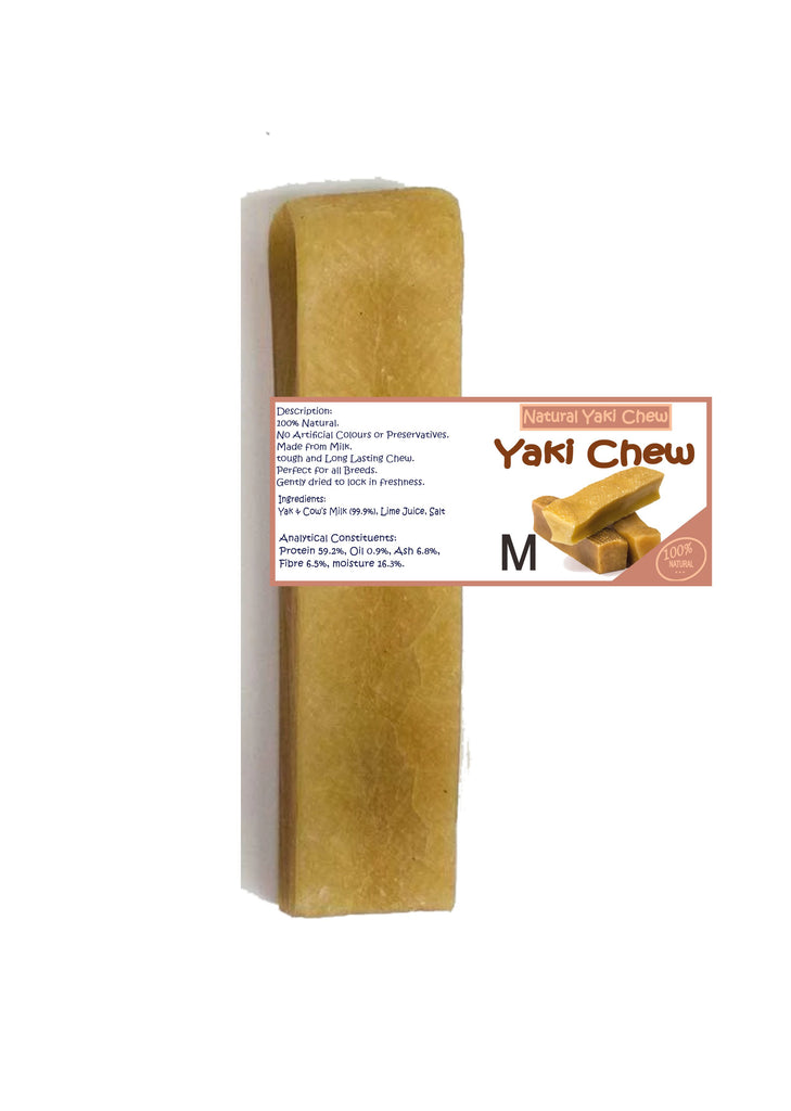 Natural Yaki Chew Medium approx 75g Made in UK