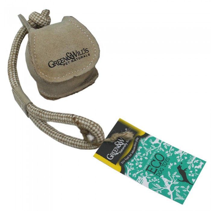 Green & Wild's Chuck Ball -Eco Dog Toy- Made in UK