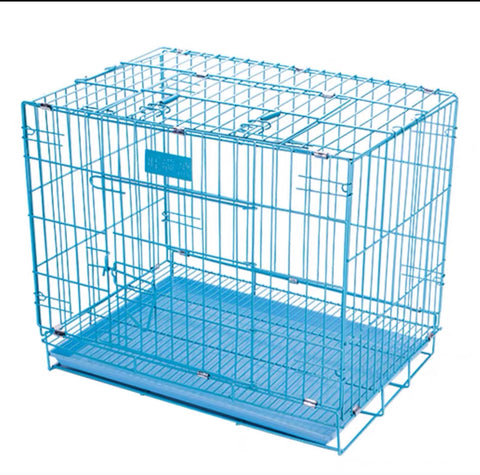 Classic Pet Cage Blue       焗漆狗籠