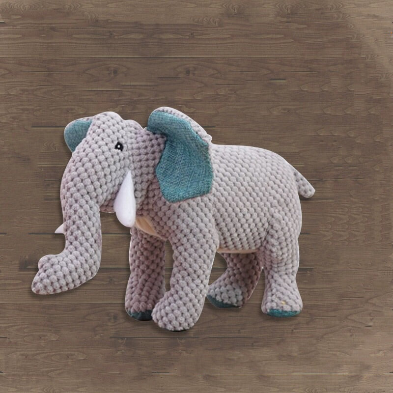 Soft Plush Elephant Dog Toy    狗玩具(象)