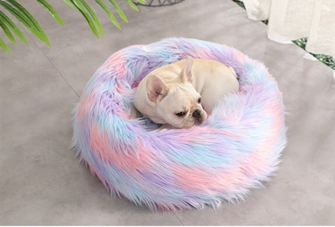 Luxury Unicorn Donut Pet Bed