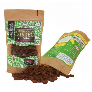 Green & Wild's Luvies Cat Treats 75g Made in UK