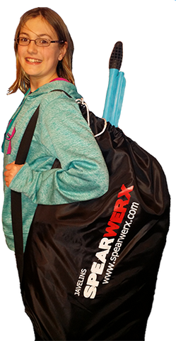"NEW SPEARWERX Draw String Equipment Bag 24""x36"""