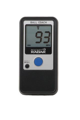 Pocket Radar Ball Coach (model PR1000-BC)
