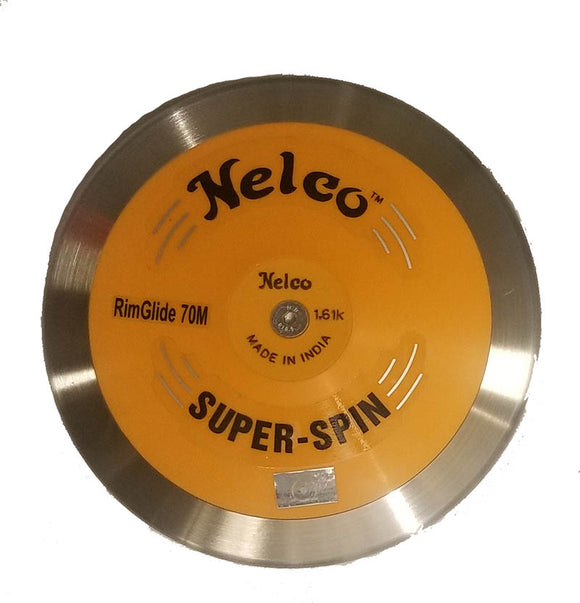 Nelco SUPER SPIN STAINLESS STEEL RimGlide 70M