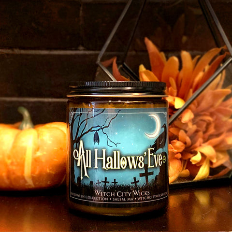 All Hallows' Eve jar candle